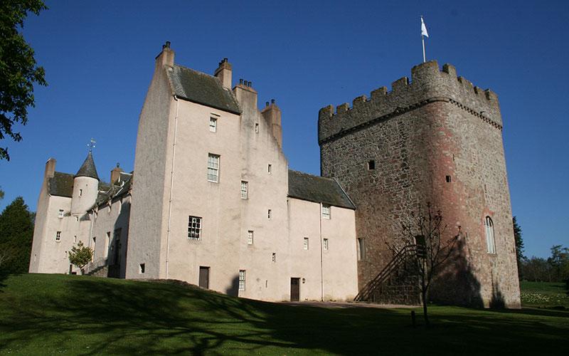 Drumoak-Drumoak-Castle-near-Aberdeen-Scotland